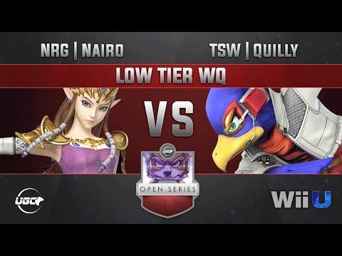 UGC Smash Open Low Tiers LOW TIER WQ - NRG   Nairo (Zelda, Falco) vs TSW   Quilly (Falco)