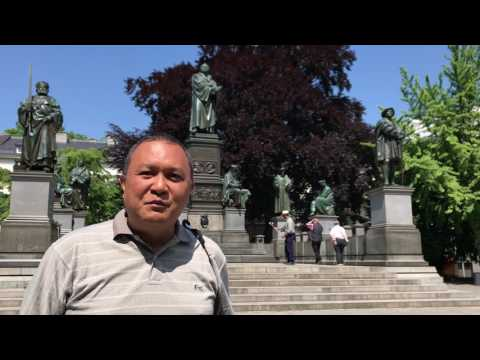 Short Commentary of The Luther Monument (Luther-Denkmal) in Worms, Germany
