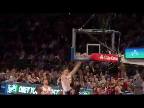 Amir Johnson Throws Down the Monster Dunk in Traffic