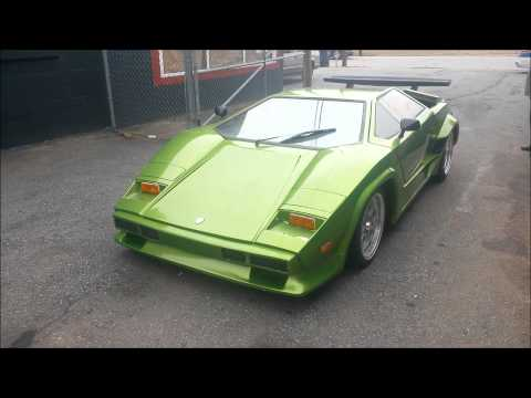 Lamborghini Countach Kit Car Replica