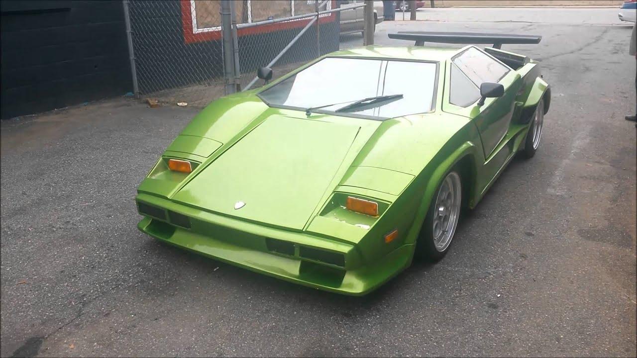 Lamborghini Countach Kit Car Replica - YouTube