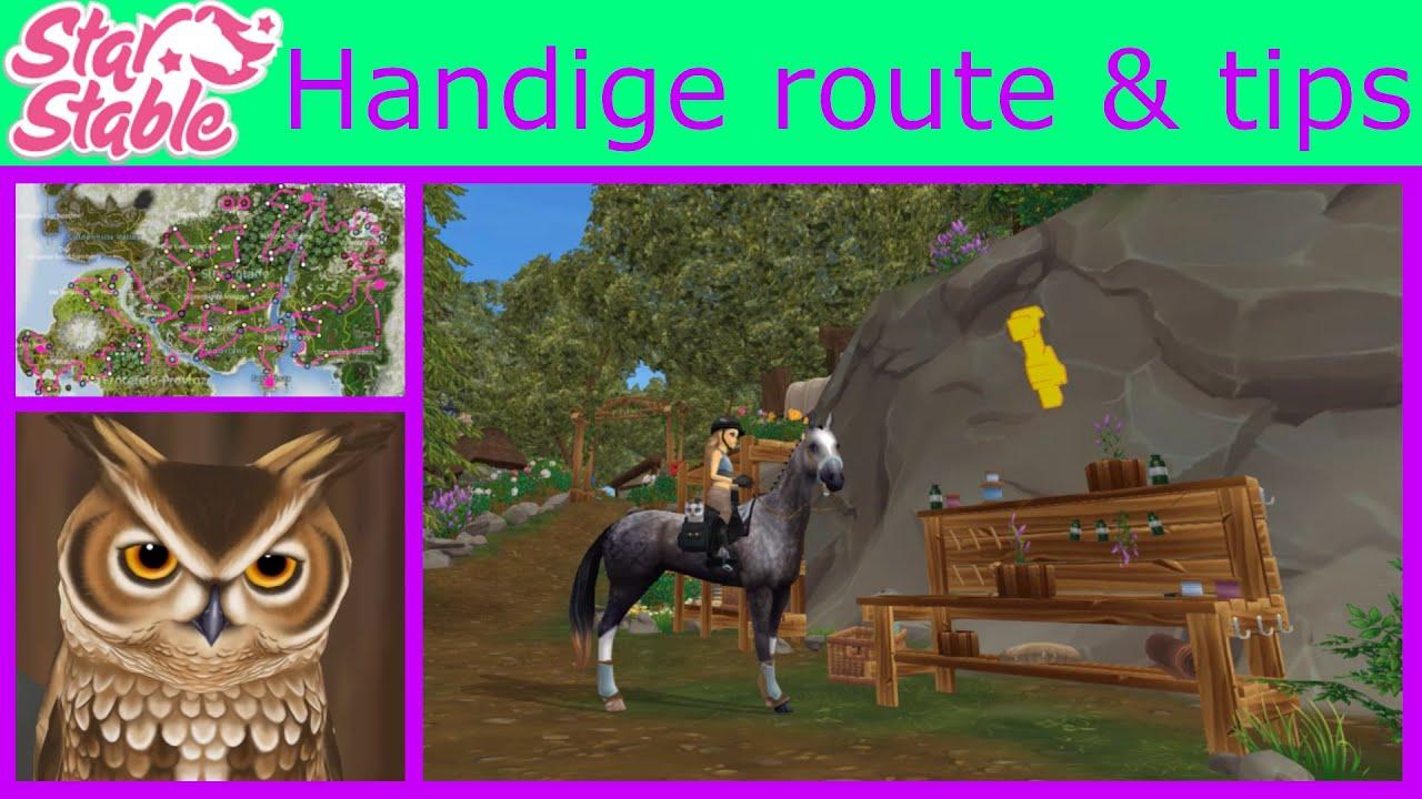 Handige route en tips voor Farah's werkplaats   Starstable Online