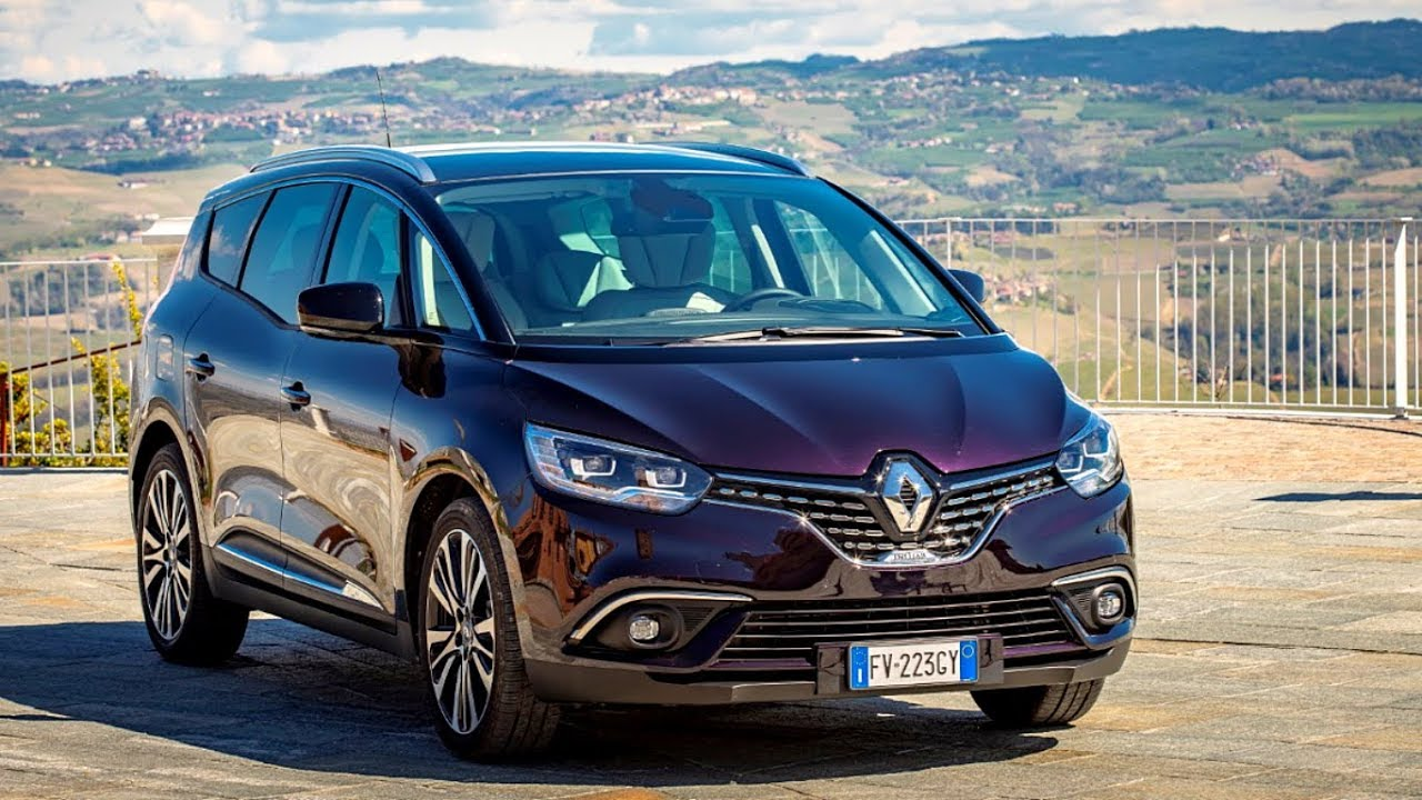 Renault Grand Scenic Tyyppiviat