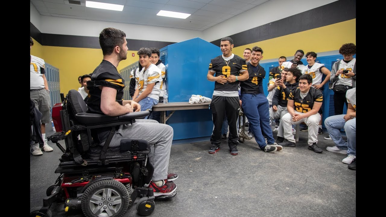 I wish to be a Football Player Again | Make-A-Wish® of Northeastern California and Northern Nevada
