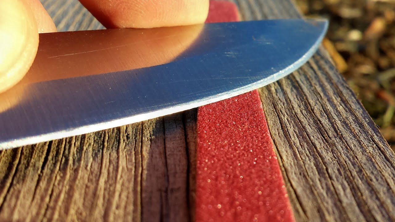 5 ways to sharpen a knife without a sharpener youtube