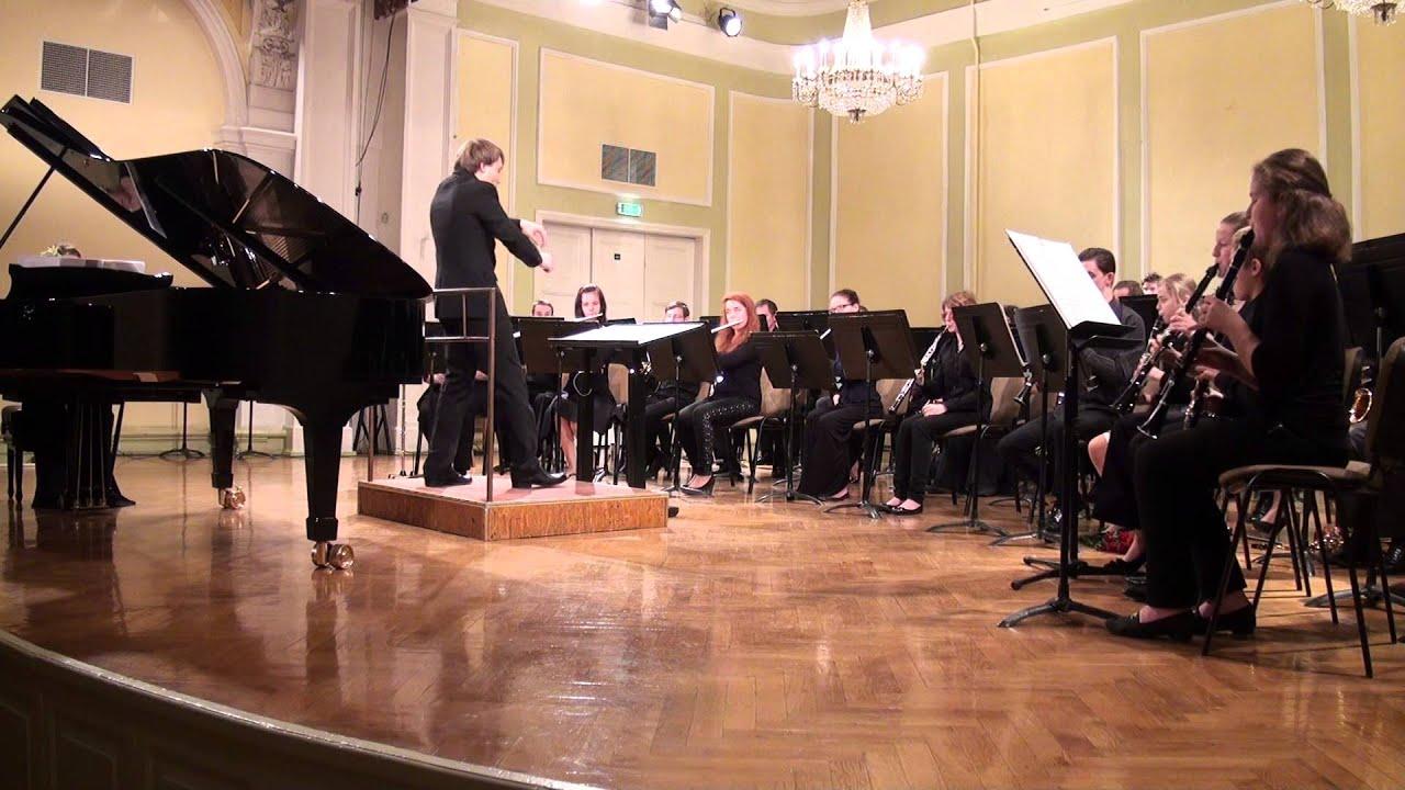 """00611 VII Baltijas valstu pūtēju orķestru diriģentu... forums, koncerts"""""""" Solo ar otķestri"""""""""""