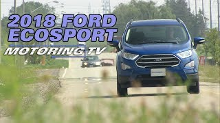 2018 Ford Ecosport - Test Drive