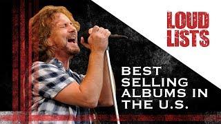 10 Best Selling Hard Rock + Metal Albums in the U.S.