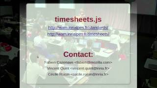 DocEng 2011: Timesheets - When SMIL Meets HTML5 and CSS3
