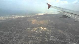Посадка в Афинах - Landing in Athens 2011(Посадка в аэропорту Афины на самолете Airbus A321 компании Аэрофлот. Landing in airport of Athens., 2011-07-10T21:27:25.000Z)