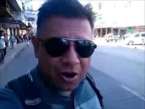 Video Postcard: Bohol Downtown.. Zero Traffic - Philippines