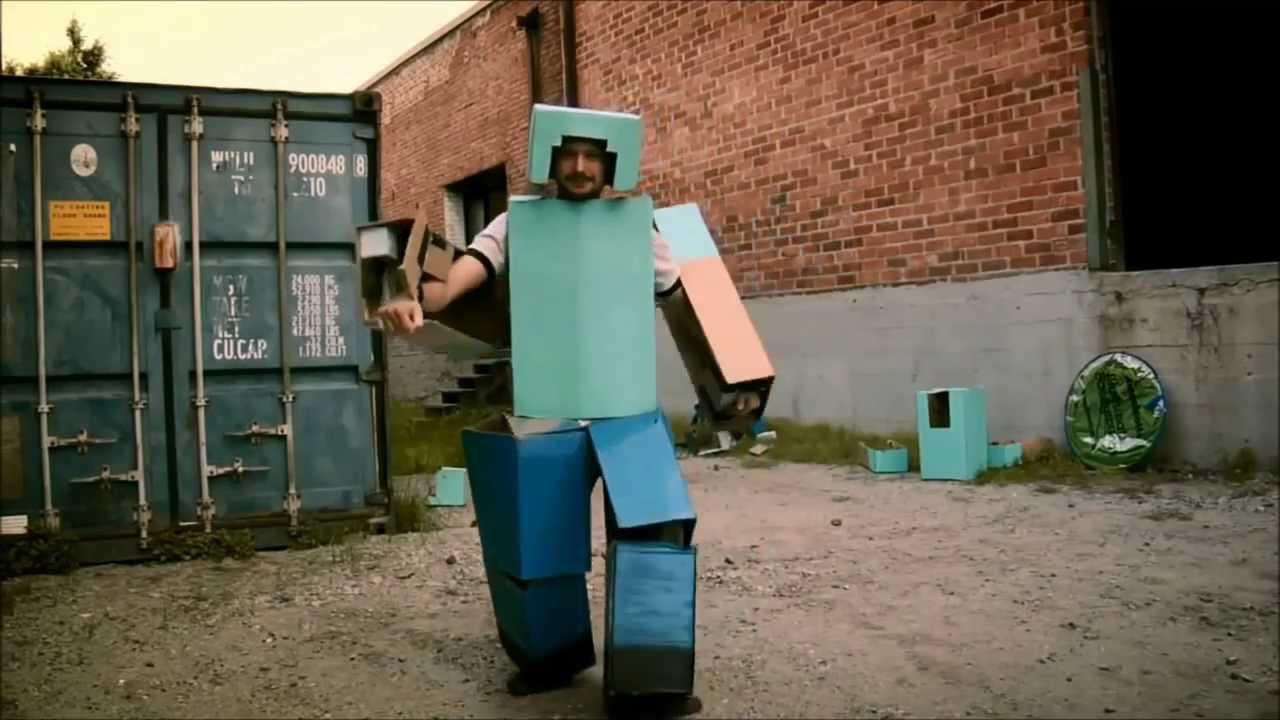 Minecraft en la vida real la granada de diamante youtube for Videos de minecraft en la vida real