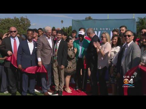 Miami Beach Senior High School Receives New Turf For Football Field