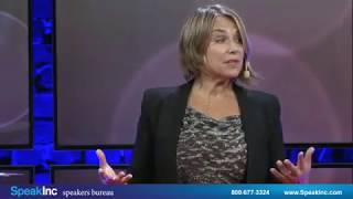 Keynote Speaker: Esther Perel • Presented by SpeakInc • The Future of Love, Lust and Listening