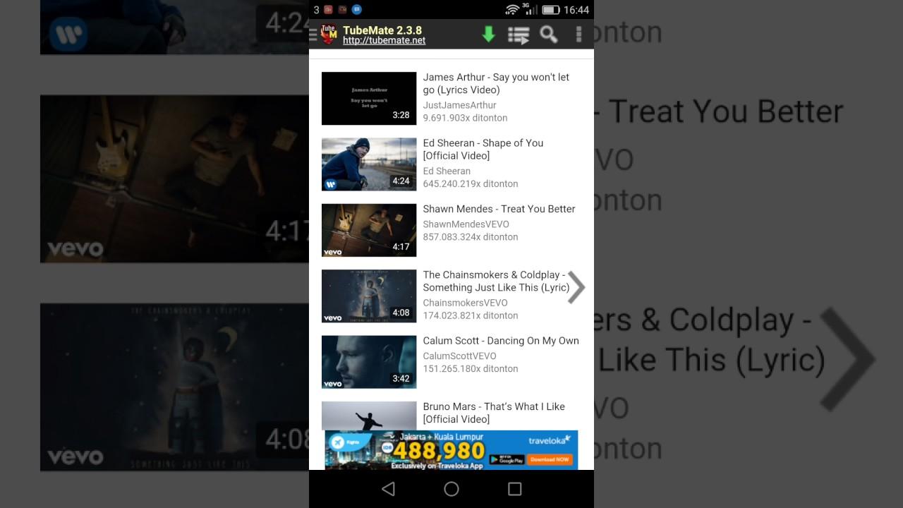 cara download youtube di android dengan cepat