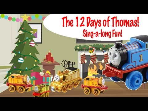 Thomas and Friends The 12 Days of Thomas,  Sing-a-long Fun!