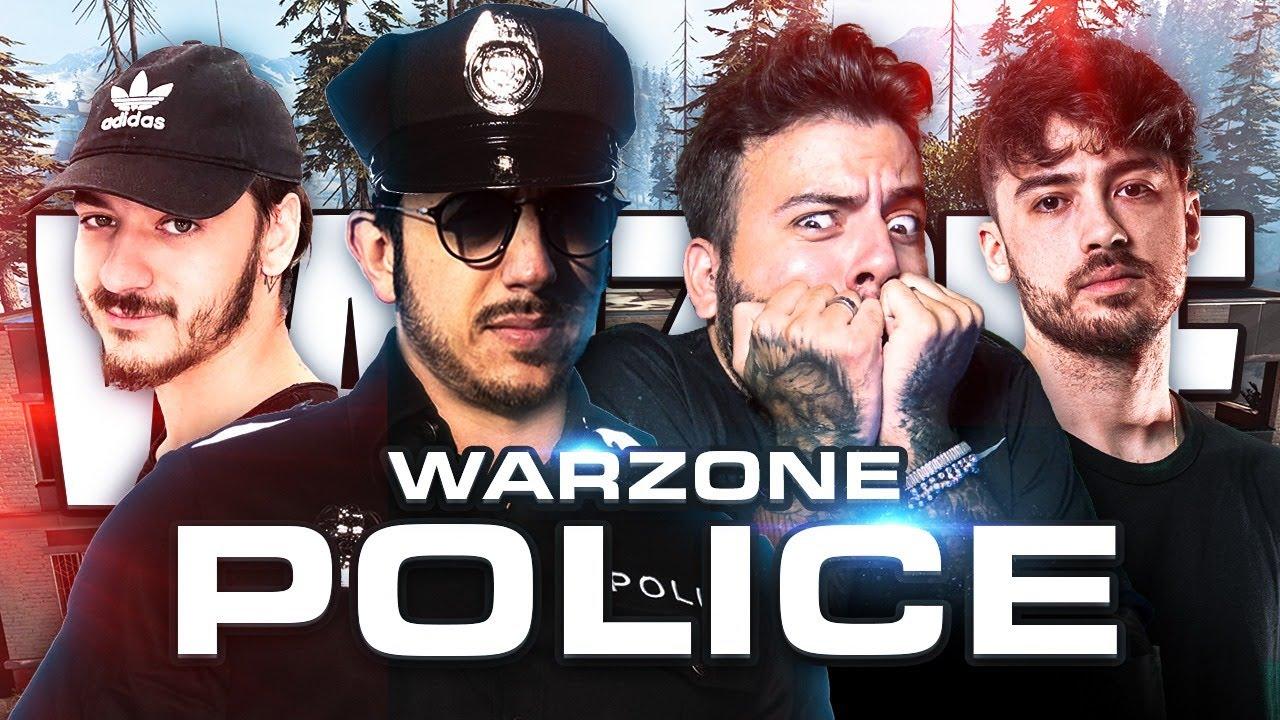 La POLIZIA di WARZONE con Pow3r, Gabbo e Lomba