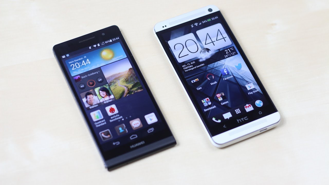 Huawei Ascend P6 vs. HTC One: Benchmark | SwagTab - YouTube