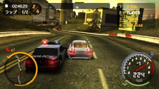 Need For Speed Most Wanted 5-1-0 ニード・フォー・スピード モスト・ウォンテッド 5-1-0 [ULJM-05073] PPSSPP Gameplay Test
