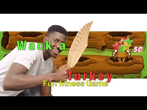 Whack a turkey (mole) | Where's the turkey? | PE thanksgiving game