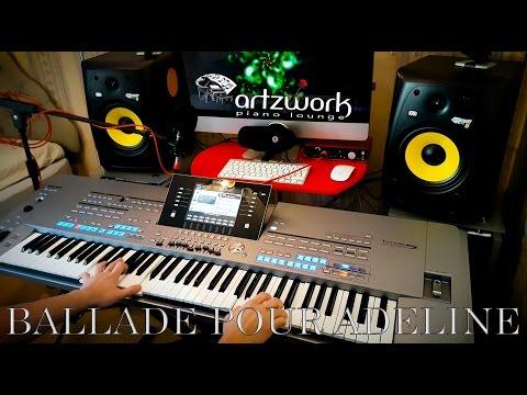 Ballade Pour Adeline - Richard Clayderman on Yamaha Tyros 5 (4K)