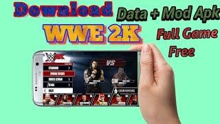Download    WWE 2K (Data+Mod Apk)   Free!