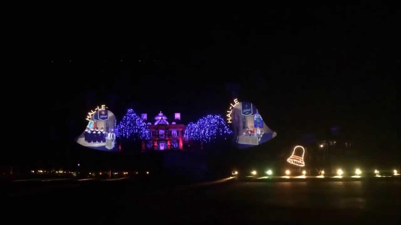 2013 Paul Tudor Jones Christmas Light Show - YouTube