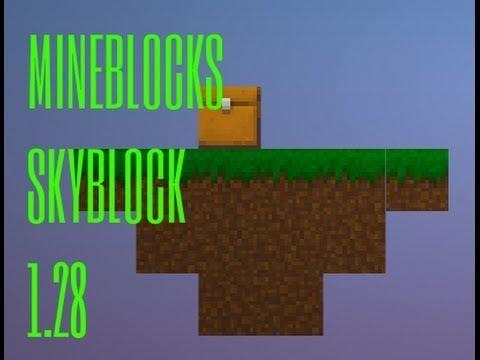 MINE BLOCKS Mapas : Nova Serie (sky Block)