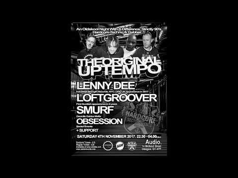 DJ Smurf @ The Original Uptempo. Glasgow, Scotland - 04/11/2017