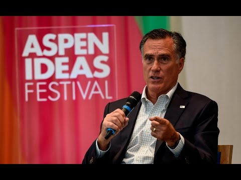 Mitt Romney in Conversation with John Dickerson