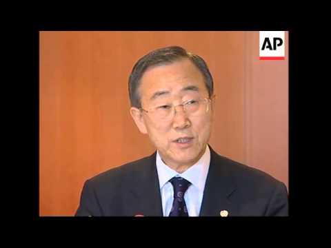 IAEA's chief to travel to NKorea to discuss nuke dismantling, Ban Ki-mon on Iran