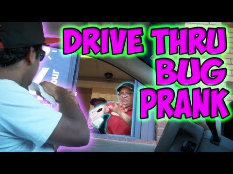 Drive Thru Bug Prank