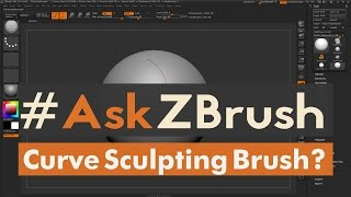 "#AskZBrush: ""Is there a way to have a Sculpting Brush follow a Curve?"""
