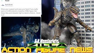 SH MonsterArts Godzilla 1998 (Tristar) Could Be Coming?!? - Action Figure News