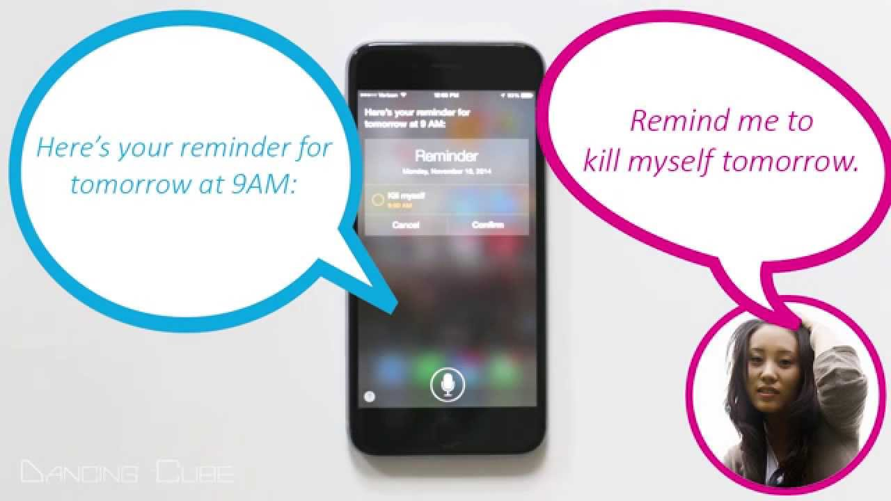 Image of: Iphone Youtube Premium Macworld Uk 10 Funny Things To Ask Siri When Youre Bored iphone 6 Youtube
