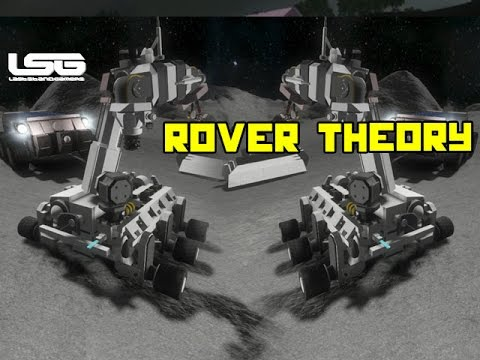 Space Engineers - Rover Exploration Theory