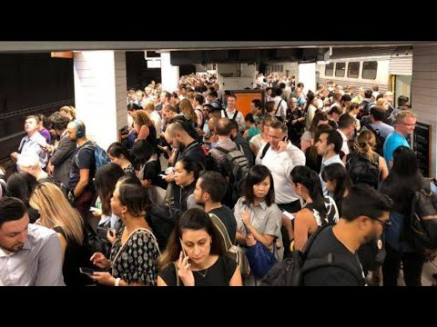 A Day Without Men Happened. Sydney's Train Network Crumbled.