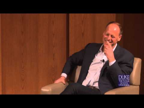Walter Robb, Co-CEO of Whole Foods, speaks at Duke University's Fuqua School of Business