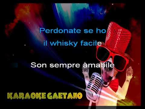 Fred Buscaglione  Whisky Facile Karaoke