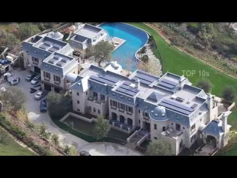 Top10 CRAZY CELEBRITY HOMES