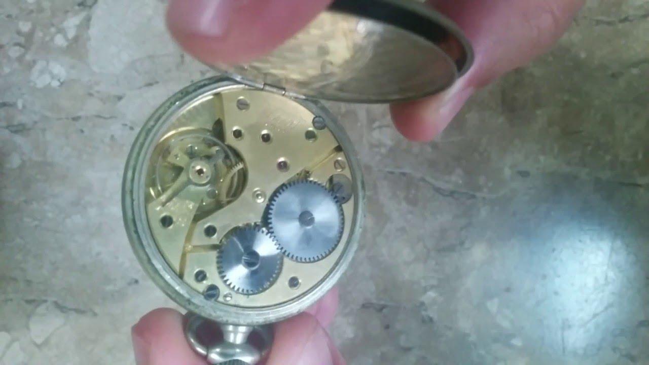 87cf93cc47b Você conhece um relógio de bolso antigo Suiço da marca Tissot   - YouTube