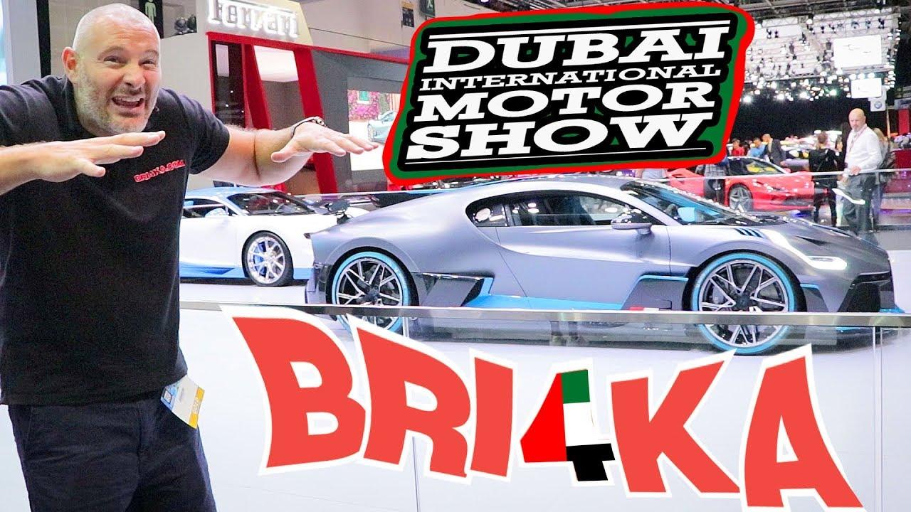 Bri4ka на изложението в Дубай | Dubai International Motor Show 19| EP1