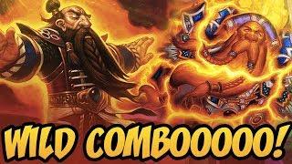 Wild ComboOOOO! | Rise Of Shadows | Hearthstone