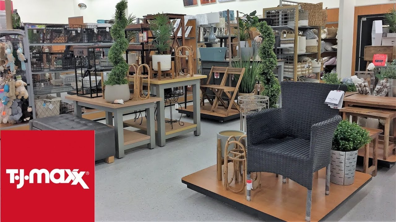 Tj Maxx Spring Summer Home Decor Furniture Shop With Me Shopping