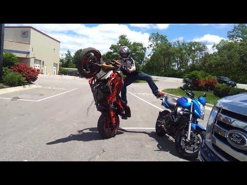 Luke Vee Stunts!
