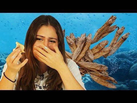 İlginç Deniz Ürünlerini Tattık - Havyarlı Çikolata, Kuru Çiroz