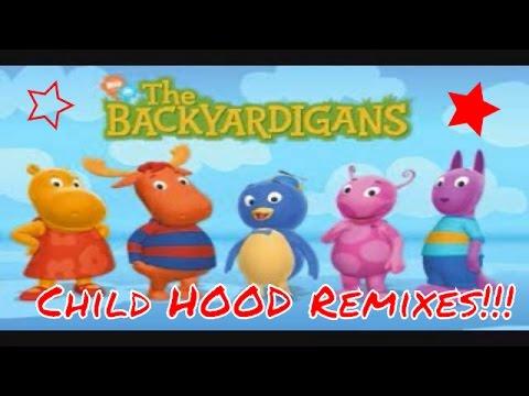 The Backyardigans Theme Song - Jersey Club Remix! | CHILD HOOD REMIXES #1