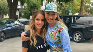 MEETING MEL B, MAKEUP FOR CHARITY, NOT DRINKING