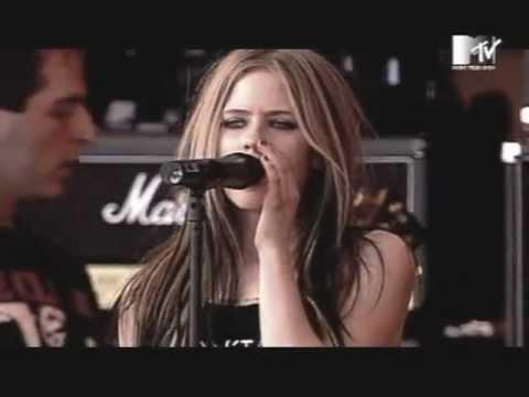 Avril Lavigne - My Happy Ending & Together @ Live At Rock AM Ring 2004