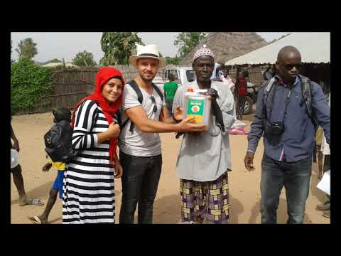Gambia/Afrika orphans helped by Holland people
